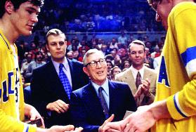 John Wooden coached UCLA to 10 NCAA