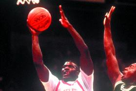 In leading UNLV to the 1990 NCAA title, Larry Johnson led all tournament
