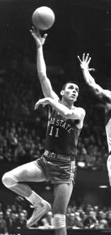 Jerry Lucas of Ohio State led the nation in field-goal percentage three t i