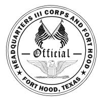 DEPARTMENT OF THE ARMY *III CORPS & FH REG 210-25 HEADQUARTERS, III CORPS AND FORT HOOD FORT HOOD, TEXAS 76544-5016 10 APRIL 2017 Installation Hunting, Fishing and Natural Resources Conservation