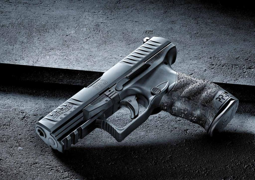 FEEL THE DIFFERENCE OF PRECISION ENGINEERING. The Walther PPQ is a smooth-shooting, precision-engineered masterpiece.