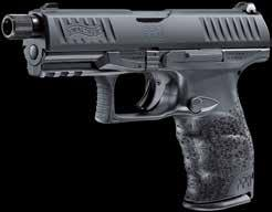 water. Developed in collaboration with special forces: The PPQ M2 NAVY SD is WALTHER s pistol for tough police missions.