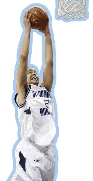 Jazzmin Walters Junior, Guard Women s Basketball Norfolk, Virginia I chose ODU because I felt