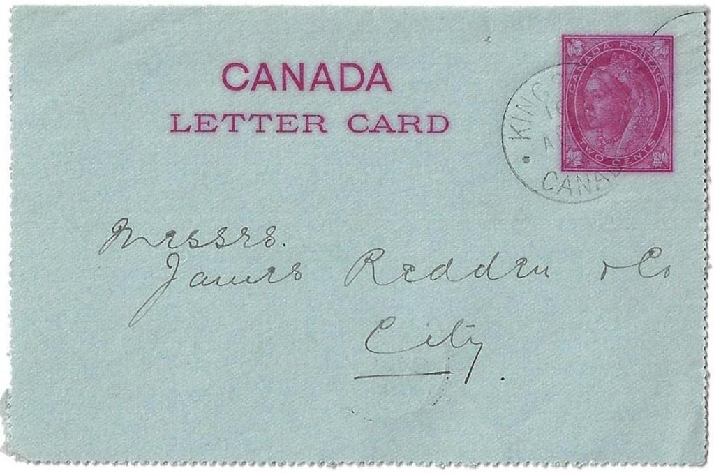 Item 272-05 Kingston letter carrier - 1899,
