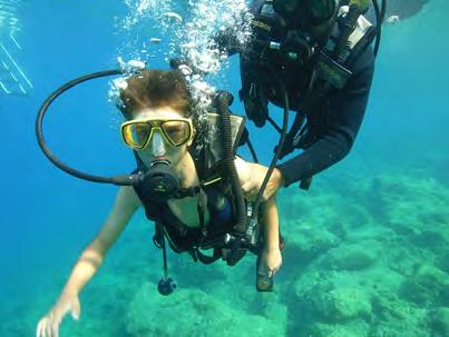 Diving Courses PADI Diving Course Your first time? You can have your first glimpse of a whole new underwater world of fish and coral landscape with the Discover Scuba Dive.