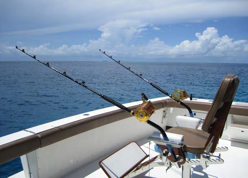 Big Game fishing Walk Around 31 The Maldivians have been fishermen for generations, and yet the game continues with Tuna, Trevally, Wahoo, Mahi Mahi and the