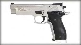 8 Topic Pistol Sub-Topic Eligibility Date 8/8/2011 Revised N/A FINDING: The stock factory model P-226 X-Five pistol meets the eligibility specifications for Police Pistol Combat Open Class Pistols,