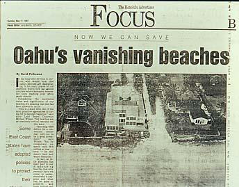 Sunday, May 11, 1997 Oahu has lost 25% of its