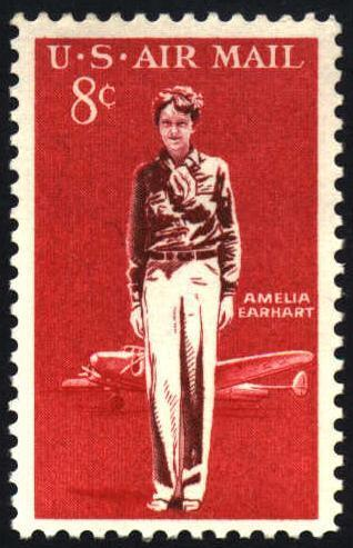 The Perforated Press Based on an activity by Marilyn Senterfitt Amelia Earhart Amelia Earhart was the first woman to fly solo across the Atlantic Ocean.