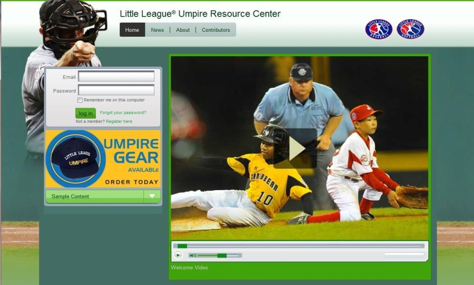Little League University Umpire Resources LittleLeagueU.