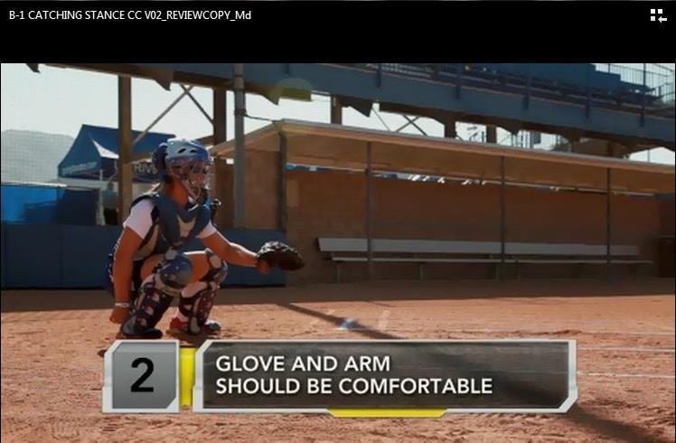 as well as the latest Little League news Content specific for softball, describing skills,