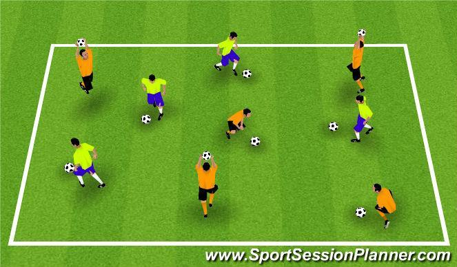 GK s will throw the ball at each other trying to score using any of the three services (Bowl, Baseball or Roundhouse) When a GK gets scored on, change the GK. Or after 45 seconds.