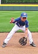 Throw to Target Alligator Hands Dry Ground Ball Players will start with the ball in their gloves.