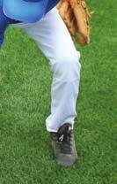 Players grab a ball off of the ground and show you their four-seam grip. Each player does fi ve balls.