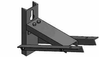 Optional 150 latch (option A) available to provide positive blade stop at 150 opening. To utilize 150 latch, ensure stop pin is positioned to alternate pin hole located closest to latch side contact.