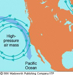 Why is there upwelling along north-west coast of US even though it is not within the trade wind system?