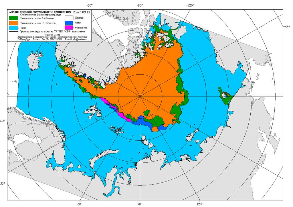 CLIMATE CHANGE Warming in the Russian Arctic was 1.29 С over the last 100 years, whereas global warming for the same period was 0.74 С.