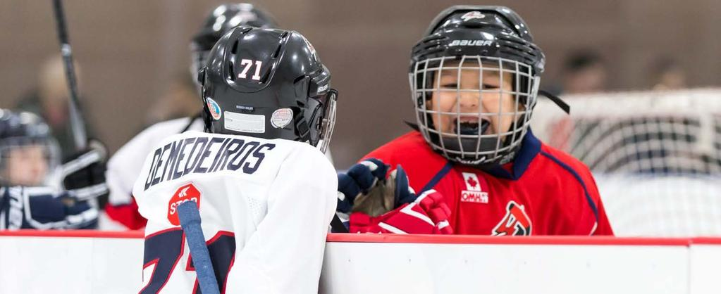 PROGRAMMING NOVICE & BELOW (8 & UNDER) How a player gets that first taste of hockey is crucial A PROGRESSIVE INTRODUCTION TO THE GAME The FUNdamental stage of Hockey Canada s Long-Term Player