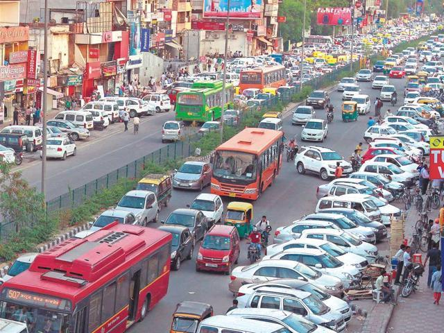 Parking Pricing & Management: Parking is one of the major problems being faced in Delhi.