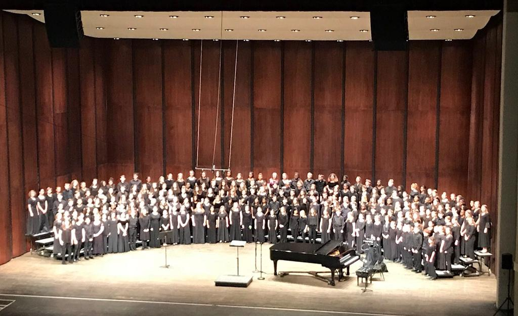 Statewide Honor Chorus in Athens this past weekend! What an amazing week of choral music! Congrats, to you all!
