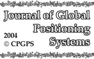 Journl of Globl Positioning Systems (2004) Vol. 3,.
