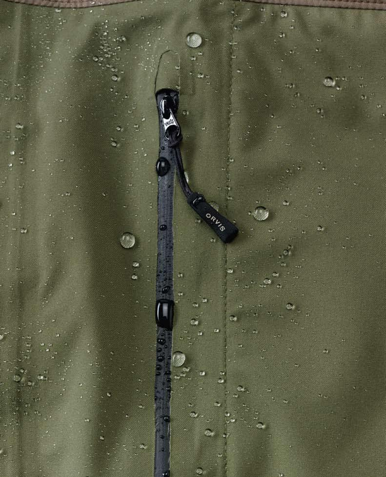 The front pockets are large and roomy yet lie flat if empty, so there is less to get in your way.