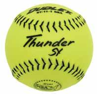 DUDLEY is the official Ball of the NSA/DUDLEY Men s super world series event NSA National Softball Association Thunder HYCON Item# 4E-066Y Cover: Composite Size: 12 COR:.52 Compression: 275 lbs.