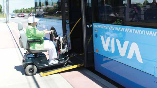 Objective 1 4.0 Create a World Class Transit System automobile-based access to transit, YRT/Viva will develop a Park N Ride implementation plan.