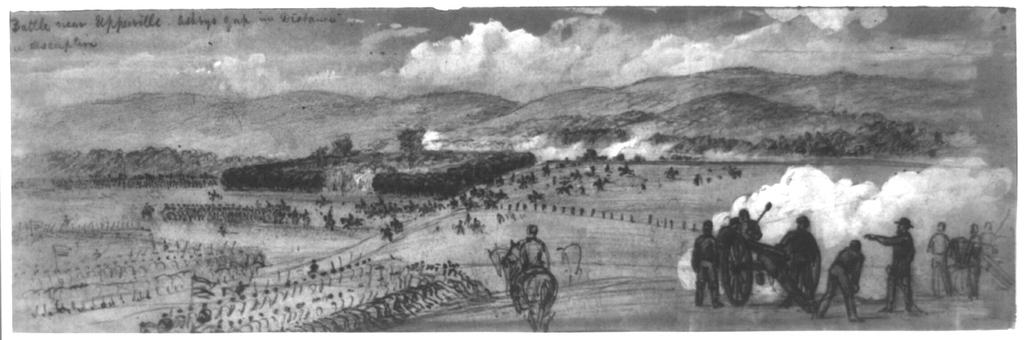Result: ~6,000 US ~7,000 CS ~367 US ~40 CS Battle of Middleburg June 17-19, 1863 On June 17, the 1st Rhode Island cavalry was ordered to scout west from Thoroughfare Gap to Middleburg.