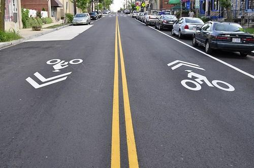 Bike Infrastructure Sharrow Bikes