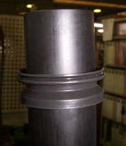 6. Impeller with Shaft Sleeve (1) The impeller height and diameter vary by each