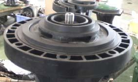 (2) Two shaft sleeve sizes: one for 41-50VK/VP pumps; the other for 65VK/VP