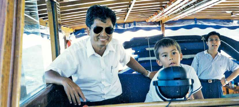 ABC Marine Manager Ah Kee on the Corsair A History of Club Boats By John Berry It was a proud moment, welcoming our new boat Shun Fung to the Club on 28th June 2015, and in doing so I recalled a