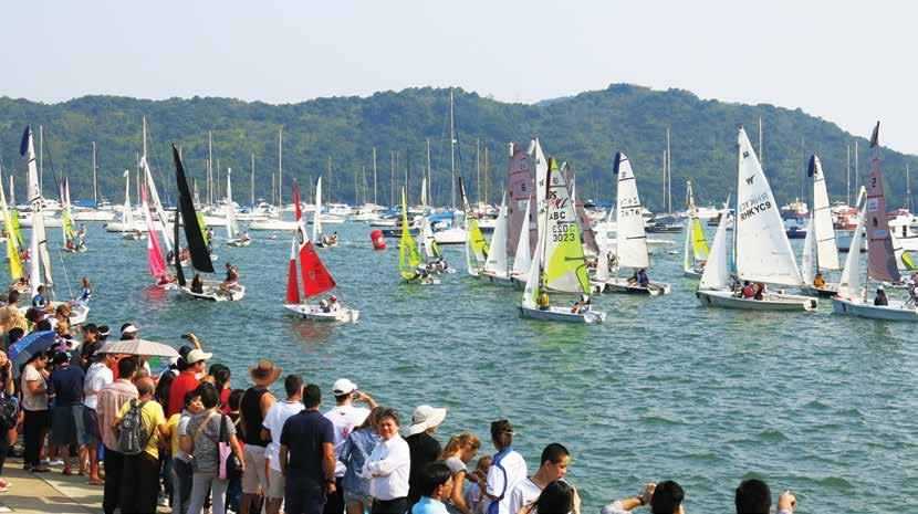 Race preview Saturday, 31 October & Sunday, 1 November Hebe Haven to Host 2015 Annual 24-hour Charity Dinghy Race By Diana Bruce Every year since 2002, the Hebe Haven Yacht Club has organised a