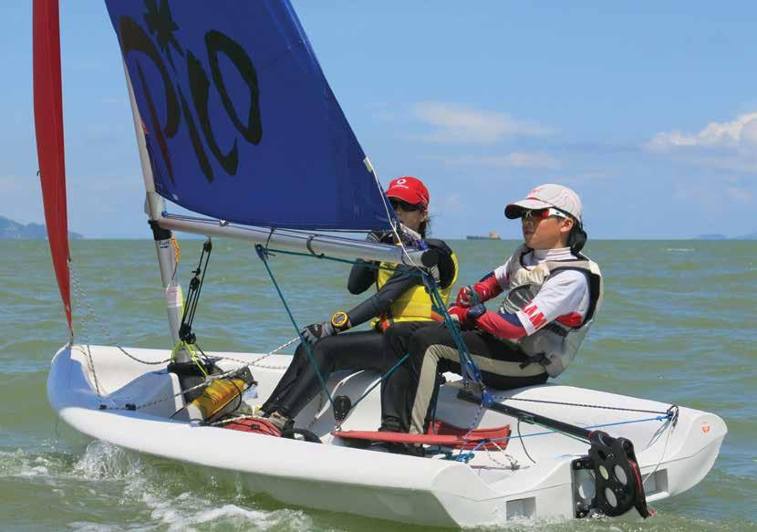 Competition Report 20 and 21 June Macau International Dinghy Regatta 2015 By Augustin Clot and Juliette Clot Now in its sixth year, the annual Macau Regatta is an important event in our sailing