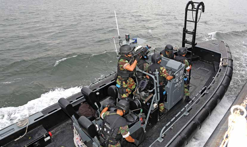 The HKMP has evolved its fleet, communications, training, technology and operations to police the modern waters of Hong Kong a vibrant international port city, but there remain close comparisons