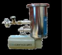 Cryogenic Pump Operation: UHV