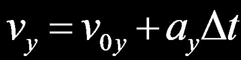 Definitions: Velocity & Acceleration with Vectors These equations are 2 ways to say the same thing: This equation: says the same thing as this one: This equation: a = v t says the same