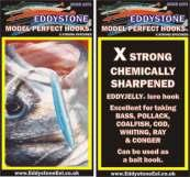 EDDYSTONE EEL MODEL PERFECT SEA HOOKS SUPER HOOKS X STRONG SPECIMEN HOOKS Great for Live Sandeel or Jelly Lures An outstanding high quality heavy Duty