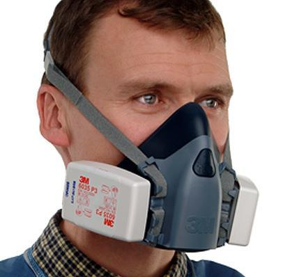 The best selection is: NIOSH approved half facepiece respirator with filters or disposable respirator Filter series N, R,