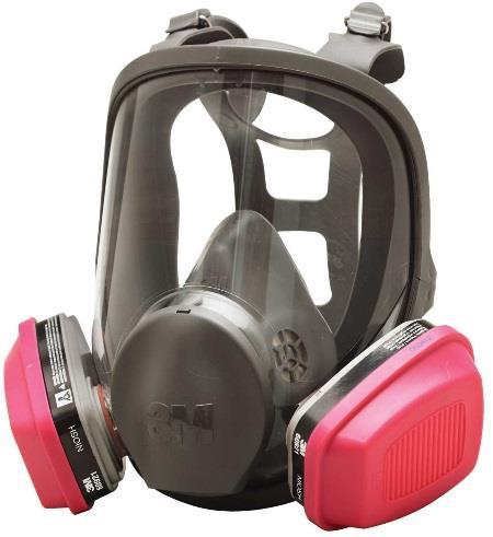 The best selection is: NIOSH approved half or full facepiece respirator with air-purifying