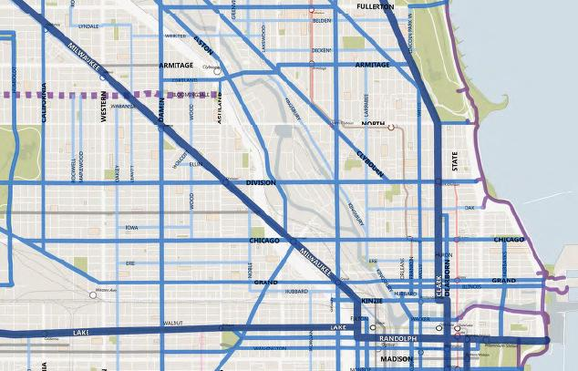(Crosstown Bike Route 2020 Cycling Plan) Clybourn Project Corridor