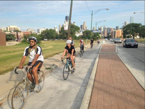 room to pass other cyclists Construction Cost: