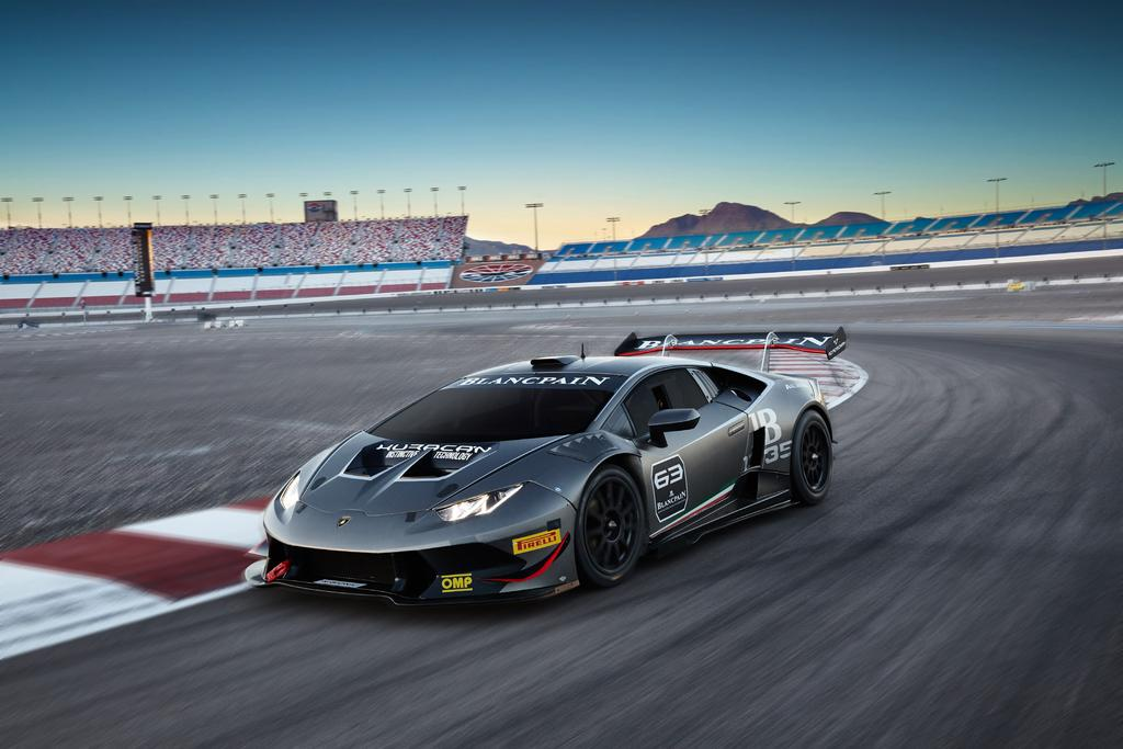 Day 3 - Test with Huracán Super Trofeo Race Car To be scheduled between 7:00 am and 10:00 am with your Lamborghini concierge Receive a comprehensive introduction to the Huracán race car from a