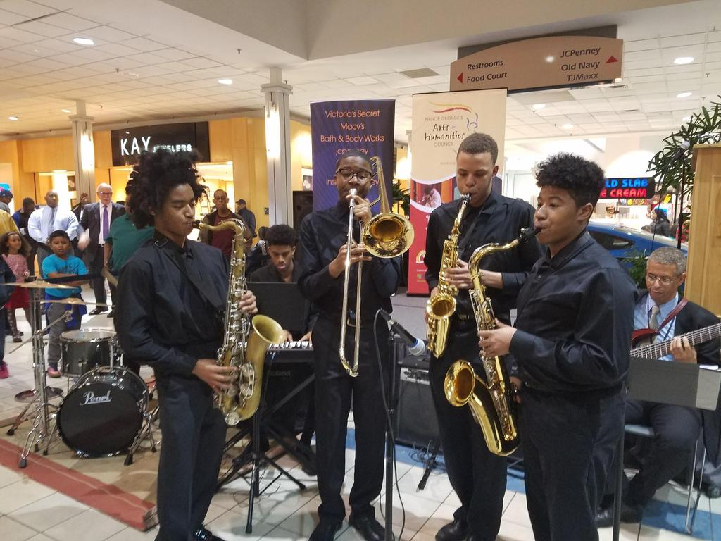 CVPA MUSIC BAND ASSESSMENTS - The PGCPS Band Assessment Festival was held at Wise High School on March 10, 2017. The CVPA Jazz Combo performed at the Prince George s County Public Schools assessments.