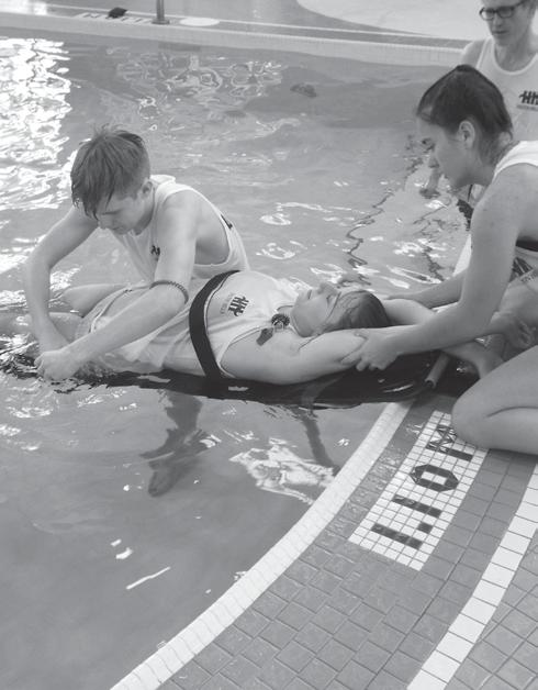ADVANCED LIFESAVING Swim into the fast lane! Take your aquatic training to the next level and become a strong, confident, technically skilled swimmer.