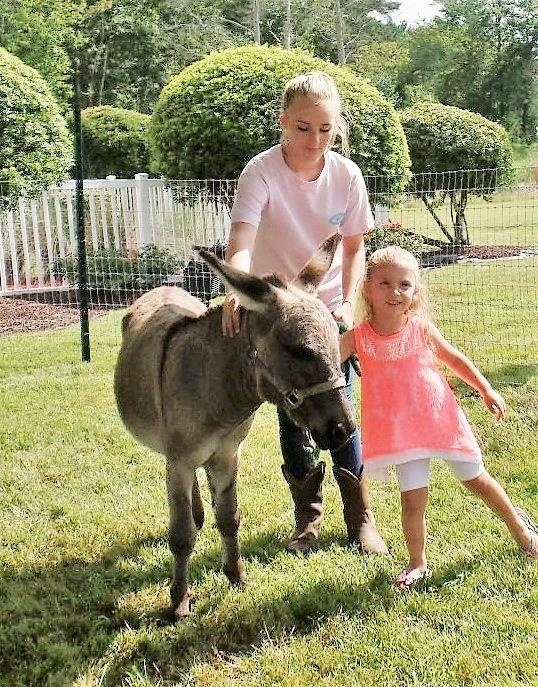 The petting zoo was provided again by Paige Trimbath from Aynor. Pony rides were provided by Christy Jordan of Conway for the 6th year.