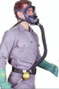 Respirators (PAPR) Uses a blower to pass