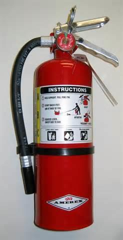 Safety Equipment-Fire Extinguisher Every teaching and