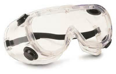 Personal Protection-Goggles Goggles must be worn at all times in the lab, unless otherwise directed by your lab